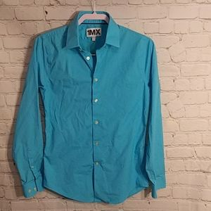 Express 1MX Extra Slim Fit Men's Shirt size Small
